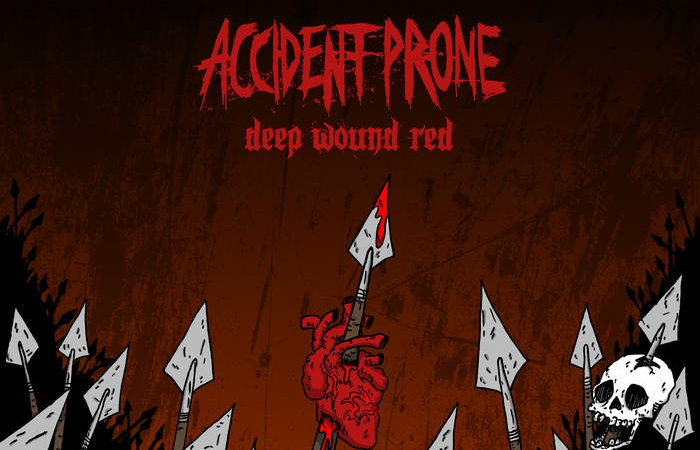 Accident Prone's 'Deep Wound Red' Blasts Away Expectations For Brutally Heavy Music